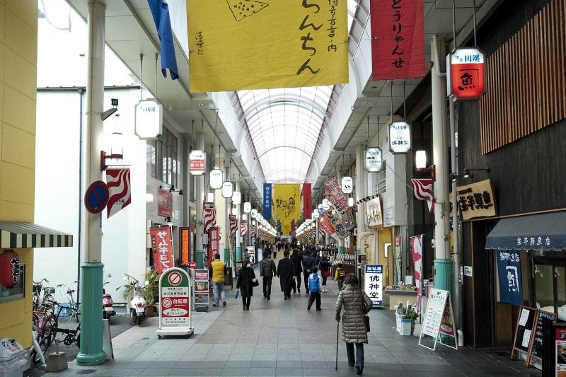 川端商店街写真